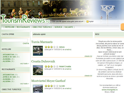 Tourism Reviews